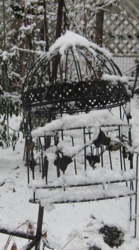 平成30年初雪?