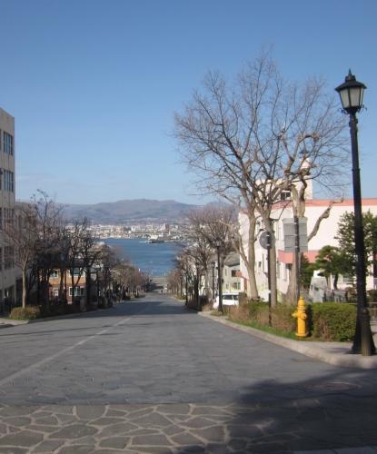 函館 散策 坂道