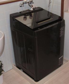 新しい洗濯機 10K洗い