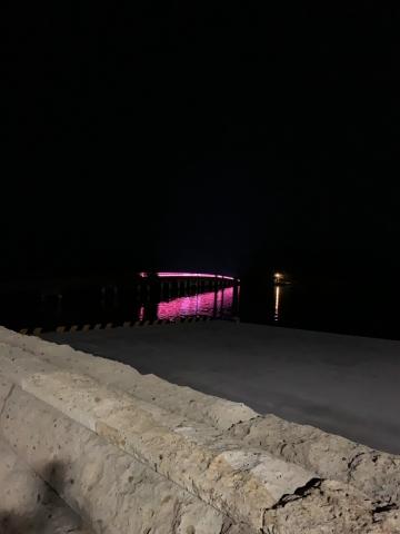 夜の福浦橋