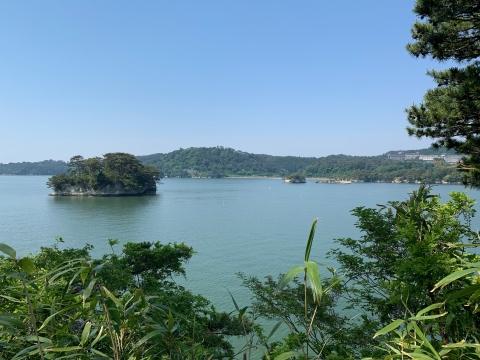 福浦島からの眺め