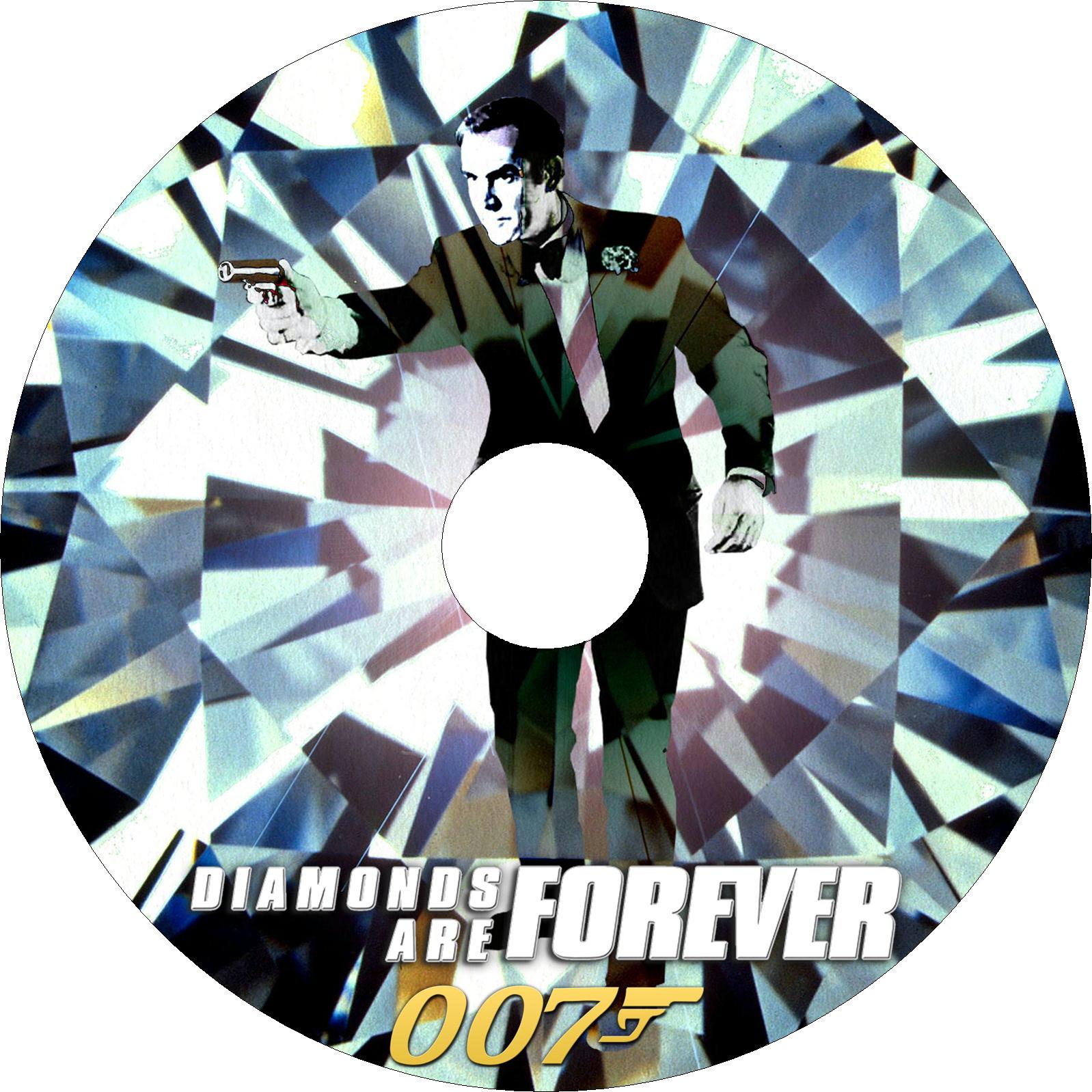 007 ダイヤモンドは永遠に ラベル