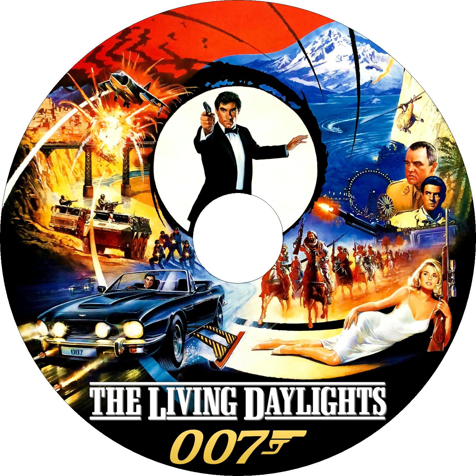 007 リビング・デイライツ ラベル