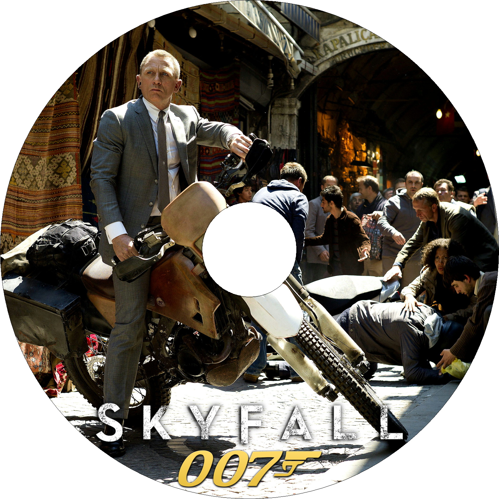 007 スカイフォール ラベル