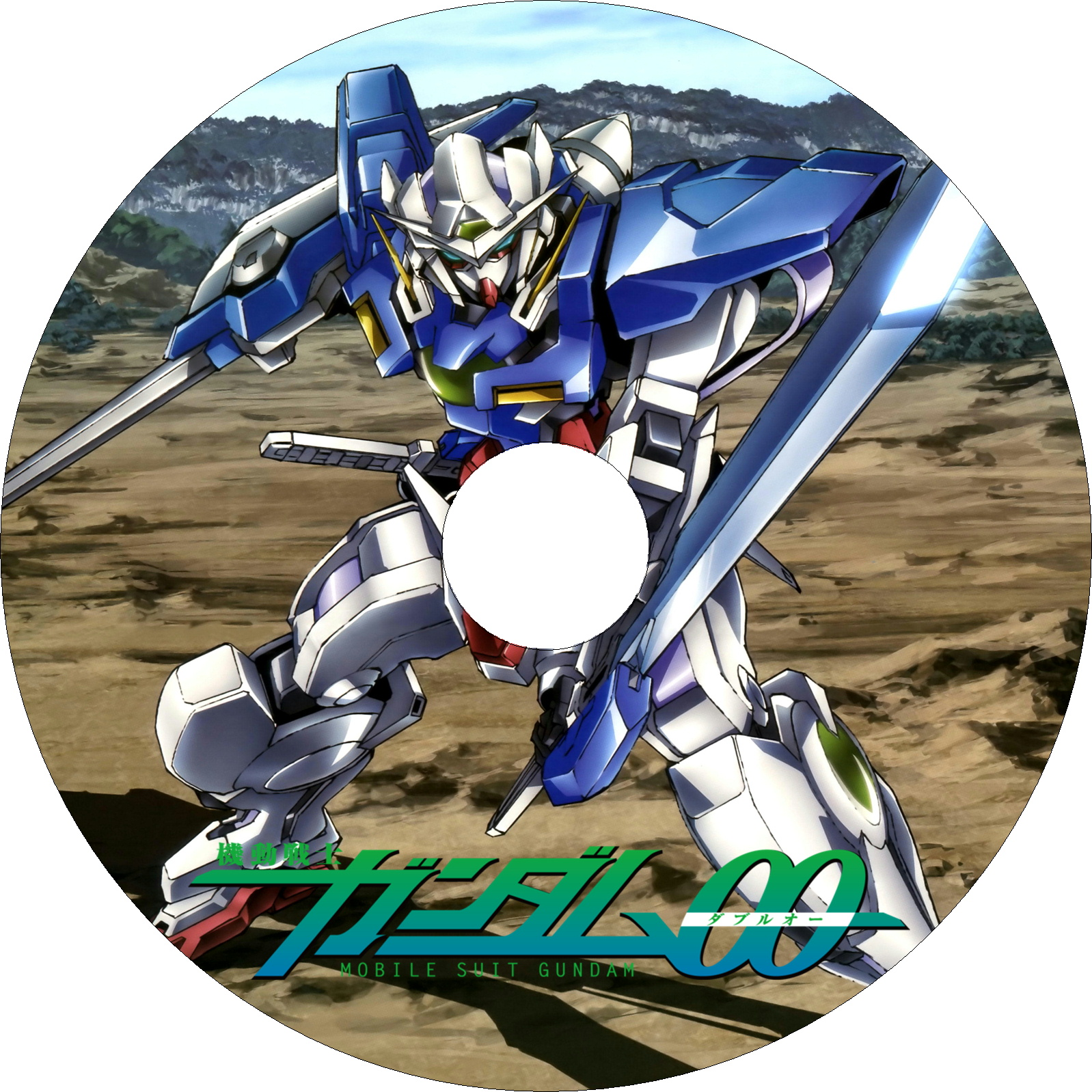 機動戦士ガンダム00 ラベル(汎用)1