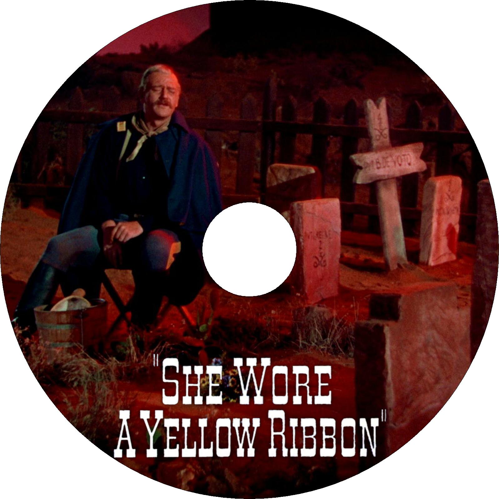 黄色いリボン ラベル改