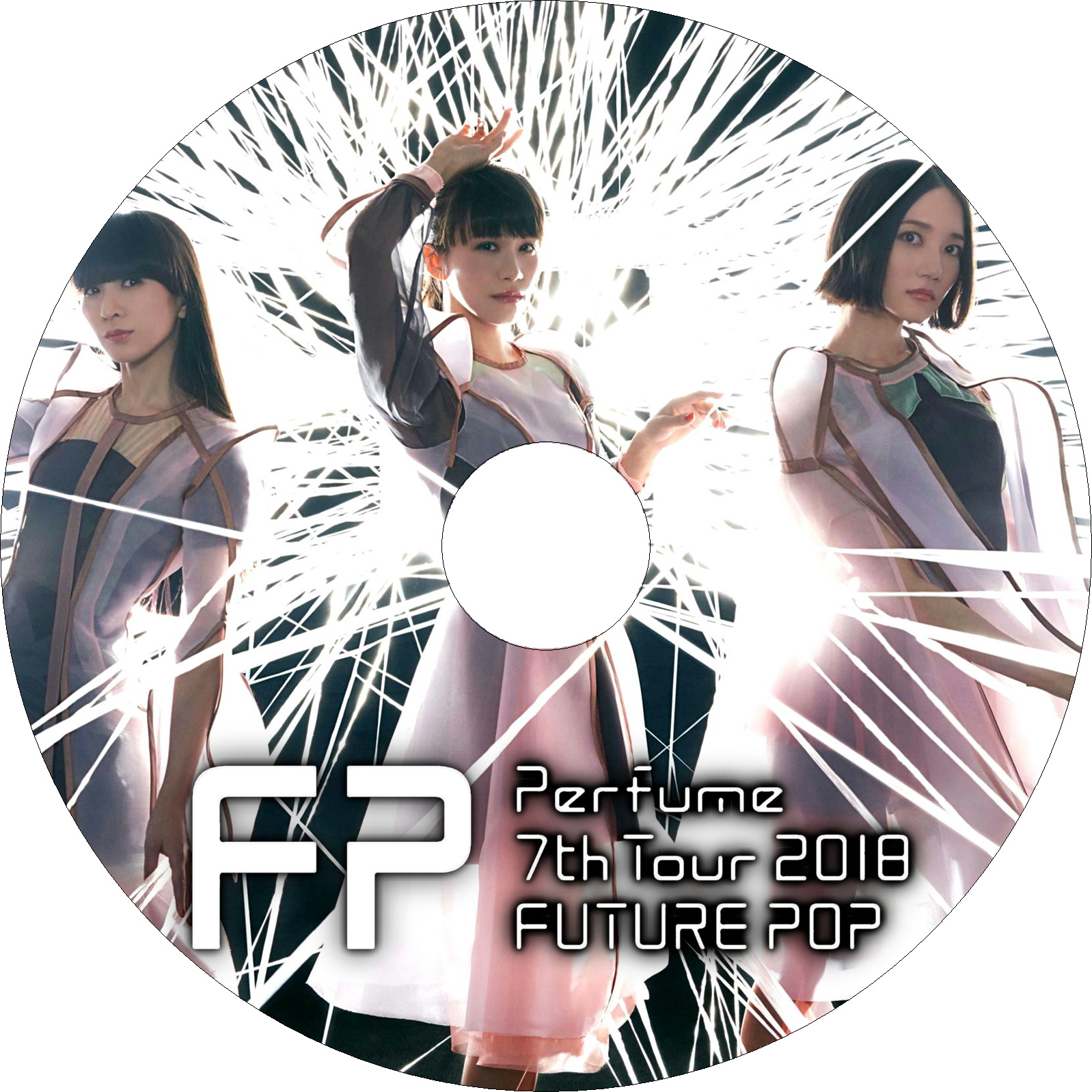 Perfume 7th Tour 2018 「FUTURE POP」 ラベル