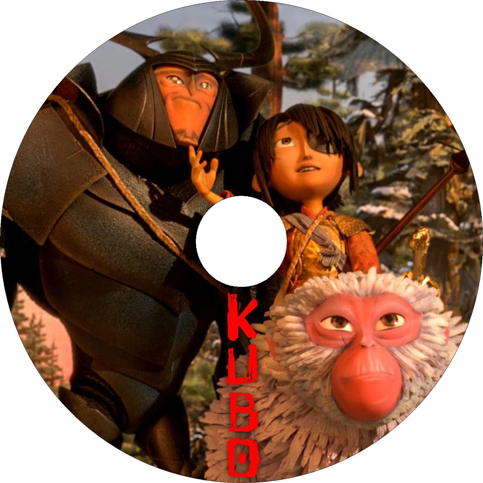 KUBO/クボ 二本の弦の秘密 ラベル