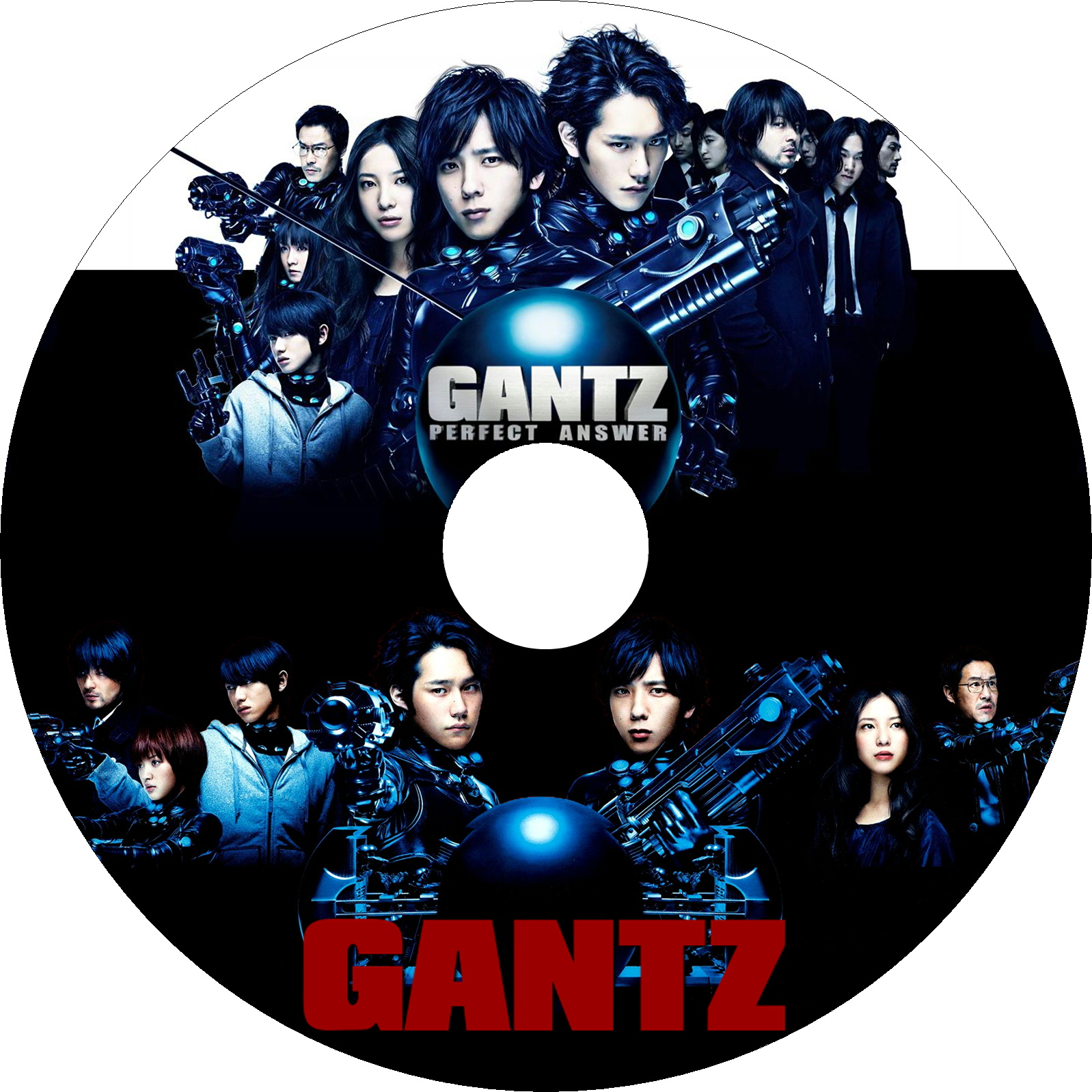 GANTZ&GANTZ PERFECT ANSWER ラベル