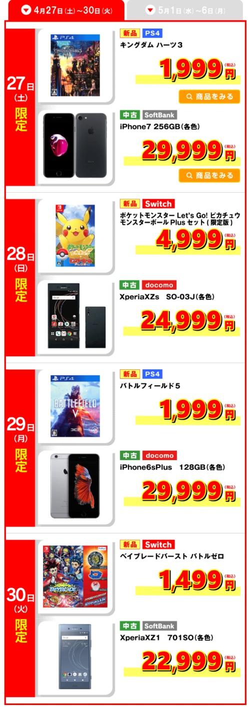 ゲオ GWセールはPS4独占!!新品のPS4『キングダムハーツ3』が1999円で投げ売りwwwwwwwww