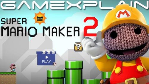 Super Mario Maker 2 on PS4