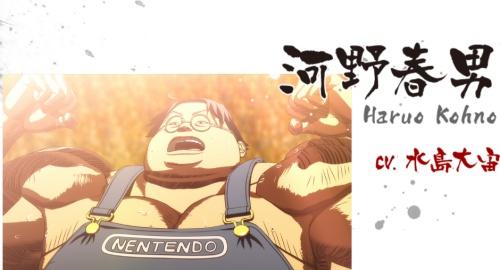 大人気新作アニメに任豚が「自宅警備員、迷惑ゲーマー」として登場!