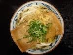 きつねうどん並@丸亀製麺大阪駅前第4ビル店