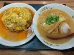 まんぷくセット@餃子の王将戎橋店