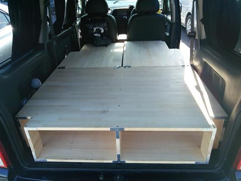 木構造床下収納