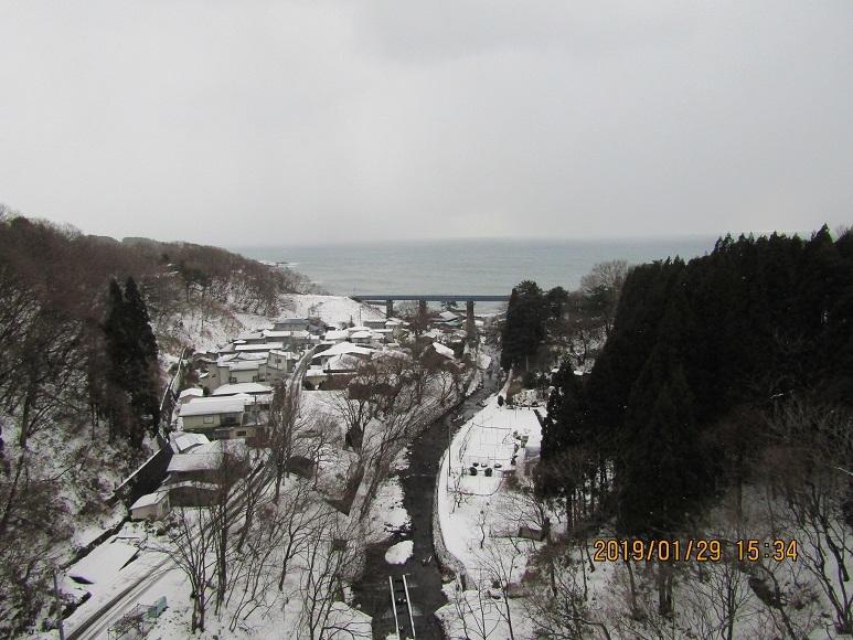 2019年1月29日。小入川
