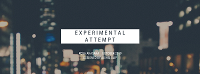 EXPERIMENTAL ATTEMPT2019400
