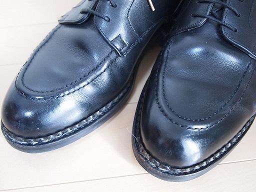 靴磨かない選手権パラブーツシャンボード前