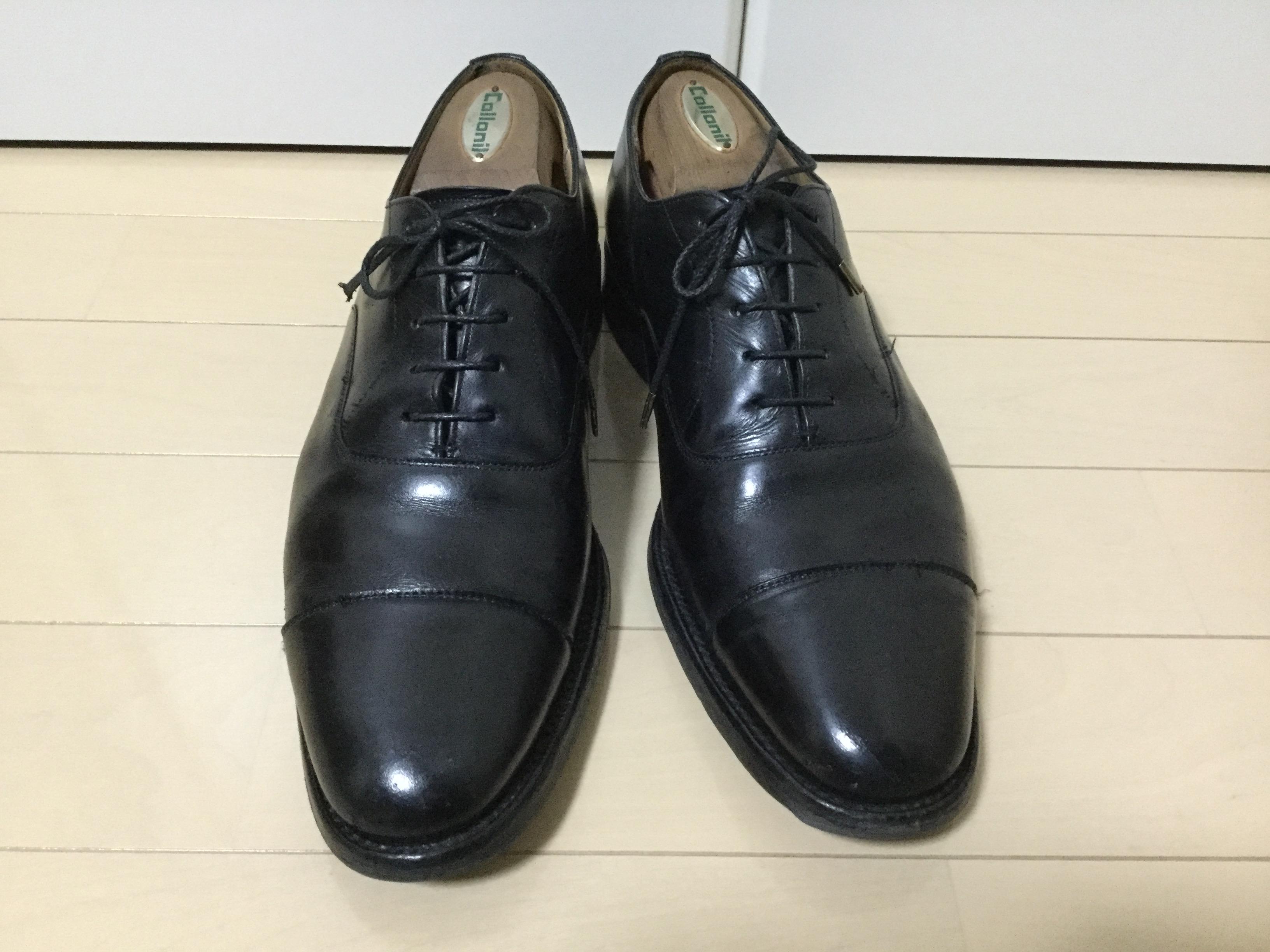 チャーチコンサル靴磨き後