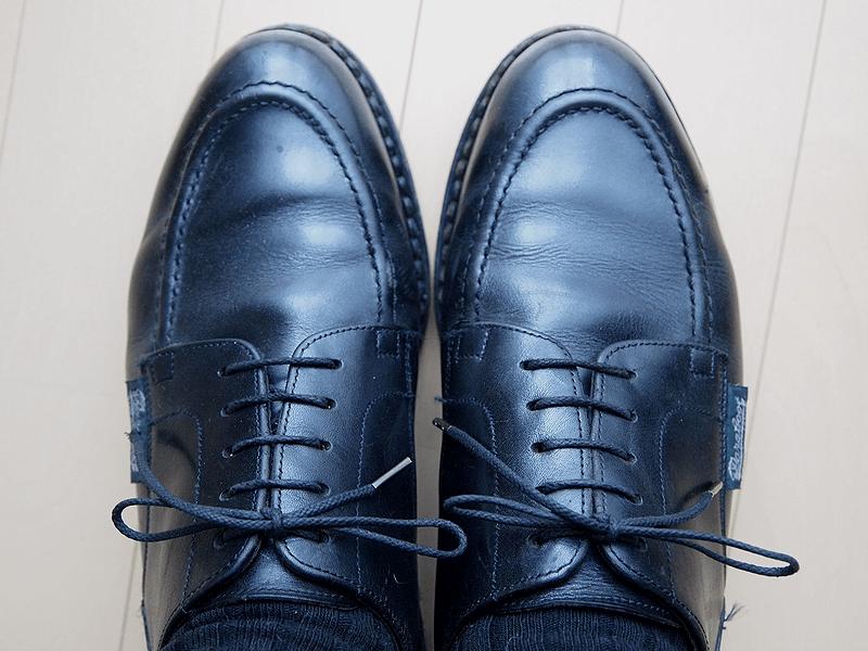 タンパッドで革靴のサイズ調整4
