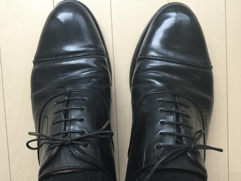 タンパッドで革靴のサイズ調整7
