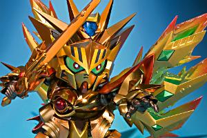 SDX 太陽騎士ゴッドガンダム 明鏡止水ゴールドバージョンt (3)