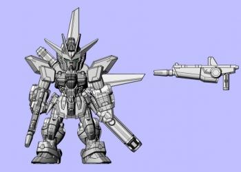MOBILE SUIT ENSEMBLE 11 ガンダムX バスターライフル