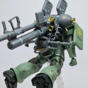 HG 量産型ザク_ビッグ・ガン (GUNDAM THUNDERBOLT Ver.) (4)