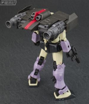 HG ジム・インターセプトカスタム(フェロウ・ブースター装備 (2)