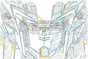 『機動戦士ガンダム SEED HDリマスター』新作カット原画集PHASE ONEt (2)