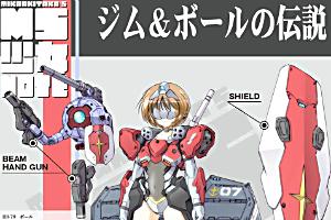 MS少女 RGM-79 ジム(宇宙用装備) & RB-79 ボールt