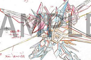 『機動戦士ガンダム SEED HDリマスター』新作カット原画集 PHASE TWO (~平井久司 記念描き下ろし表紙~) t