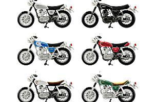 エフトイズ 124 ヴィンテージバイクキット7t