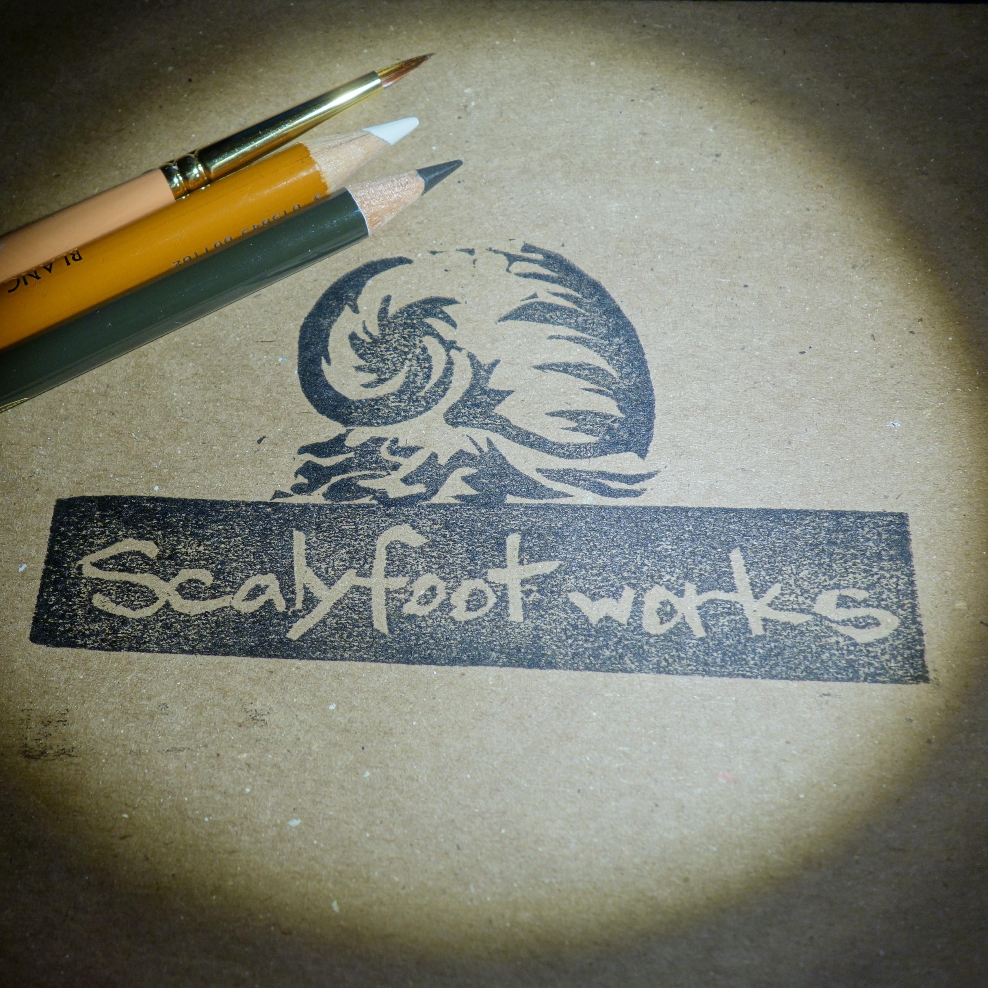 2019_海の生き物「スケーリーフットワークス」_logo