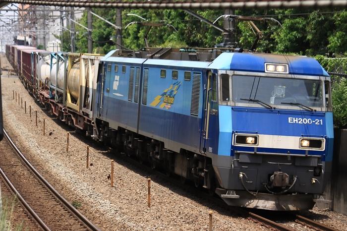 2092レ EH200-21【高】_コキ