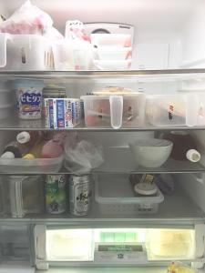 冷蔵庫の片づけ はぴごら旭川整理収納アドバイザー 佐々木亜弥