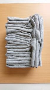 Tシャツを切って ボロきれ を作る 旭川 整理収納アドバイザー はぴごら 佐々木亜弥