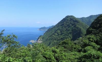 経ヶ岬灯台からの眺め