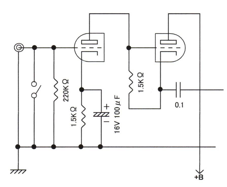 オルソン・アンプの改造/回路案 - 真空管アンプの自作