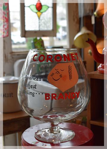 コロネット ブランデーグラス
