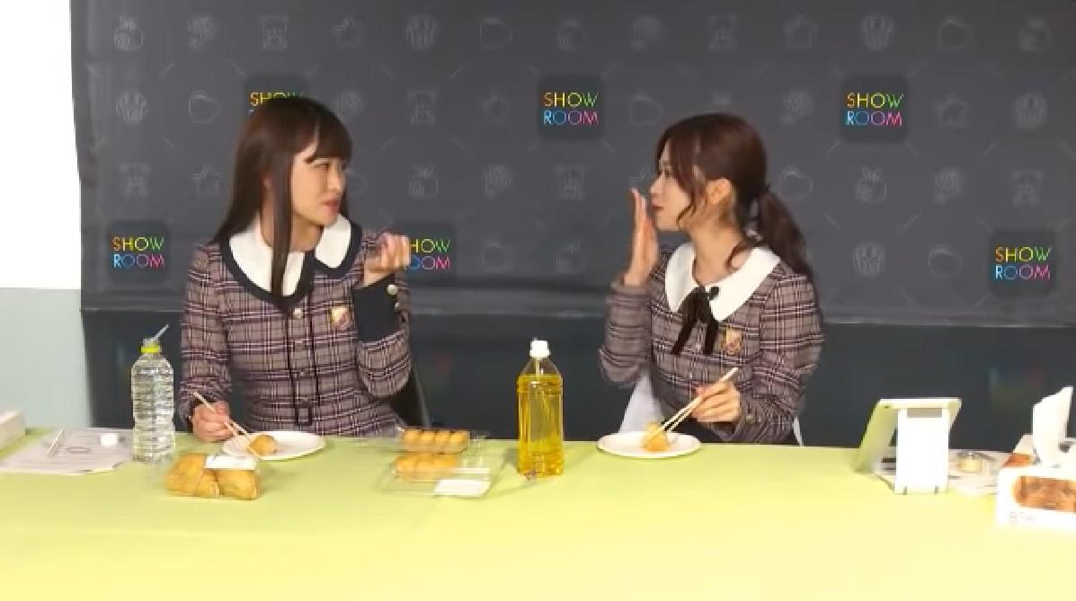 乃木坂46「猫舌SHOWROOM」寺田蘭世&伊藤かりん