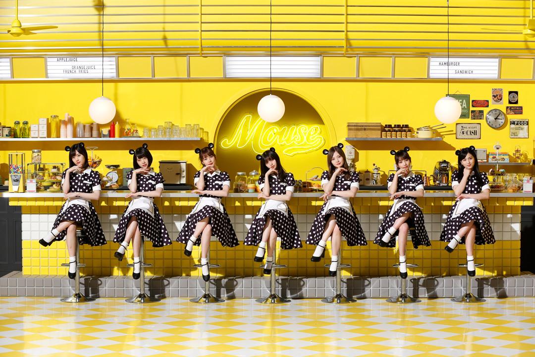 乃木坂46「マウスダイナー ウェイトレス」篇 マウスコンピューター