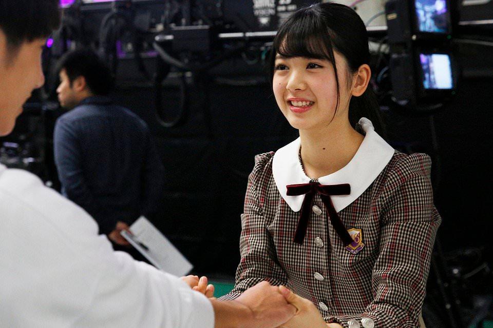 木坂46「4期生お見立て会」 初めての握手会 筒井あやめ
