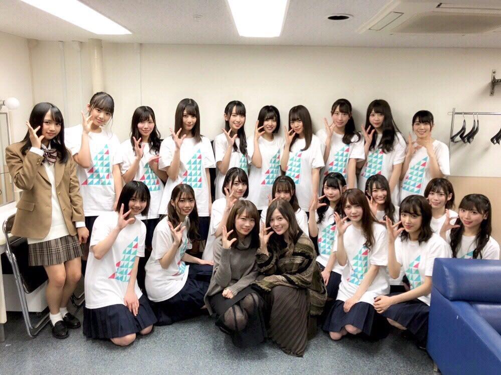 けやき坂46 ひらがなくりすます2018 秋元真夏 白石麻衣