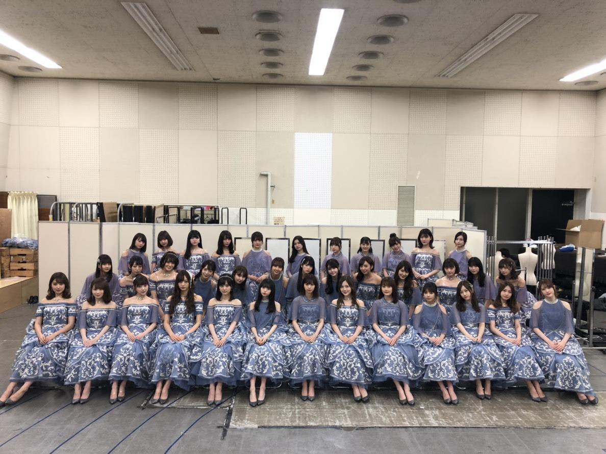 乃木坂46「NHK紅白歌合戦2018」集合写真