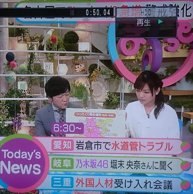 乃木坂46堀未央奈、NHKのテロップで「堀末 央奈」と間違えられる