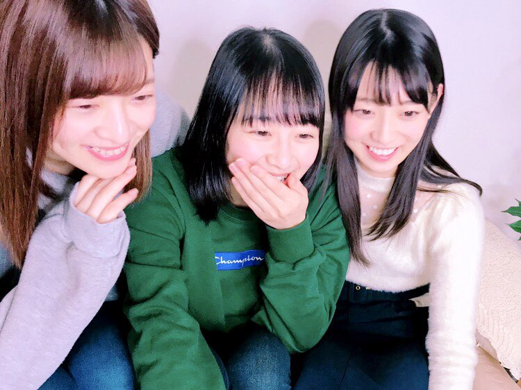 乃木坂46阪口、向井、吉田のSHOWROOM