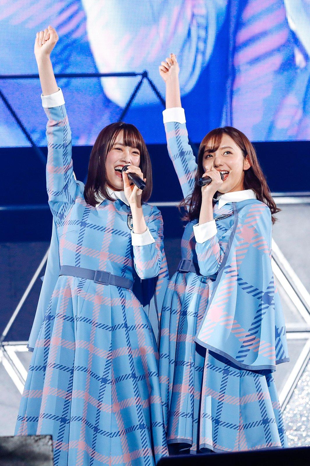 ALL LIVE NIPPON 2019 新内眞衣 けやき坂46 初コラボ「誰よりも高く跳べ!」