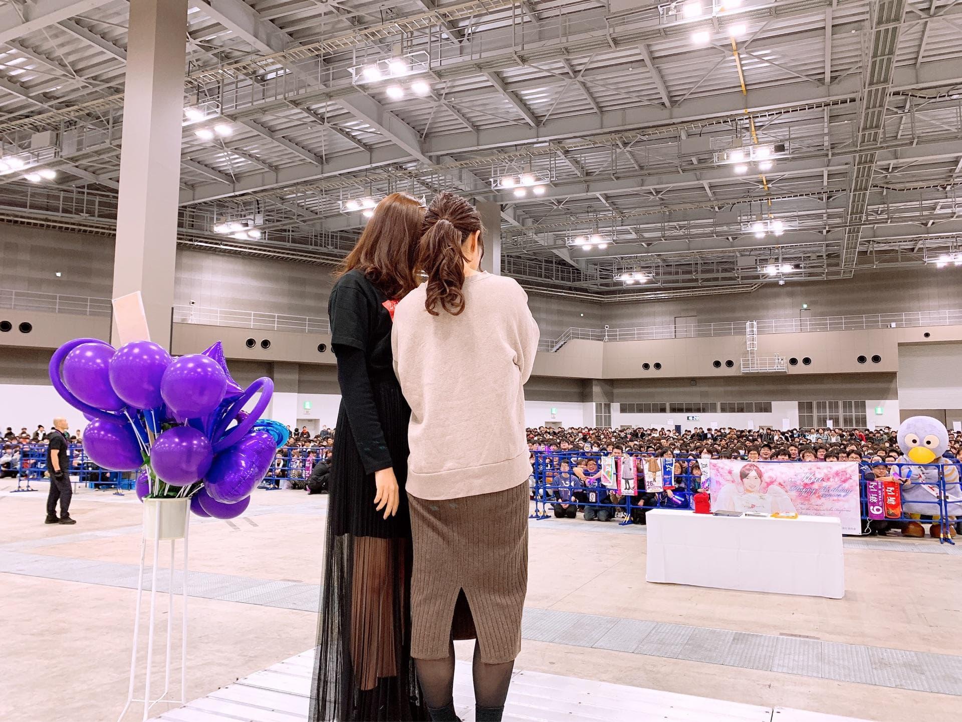 乃木坂46新内眞衣生誕祭2019  斉藤優里 距離感音痴
