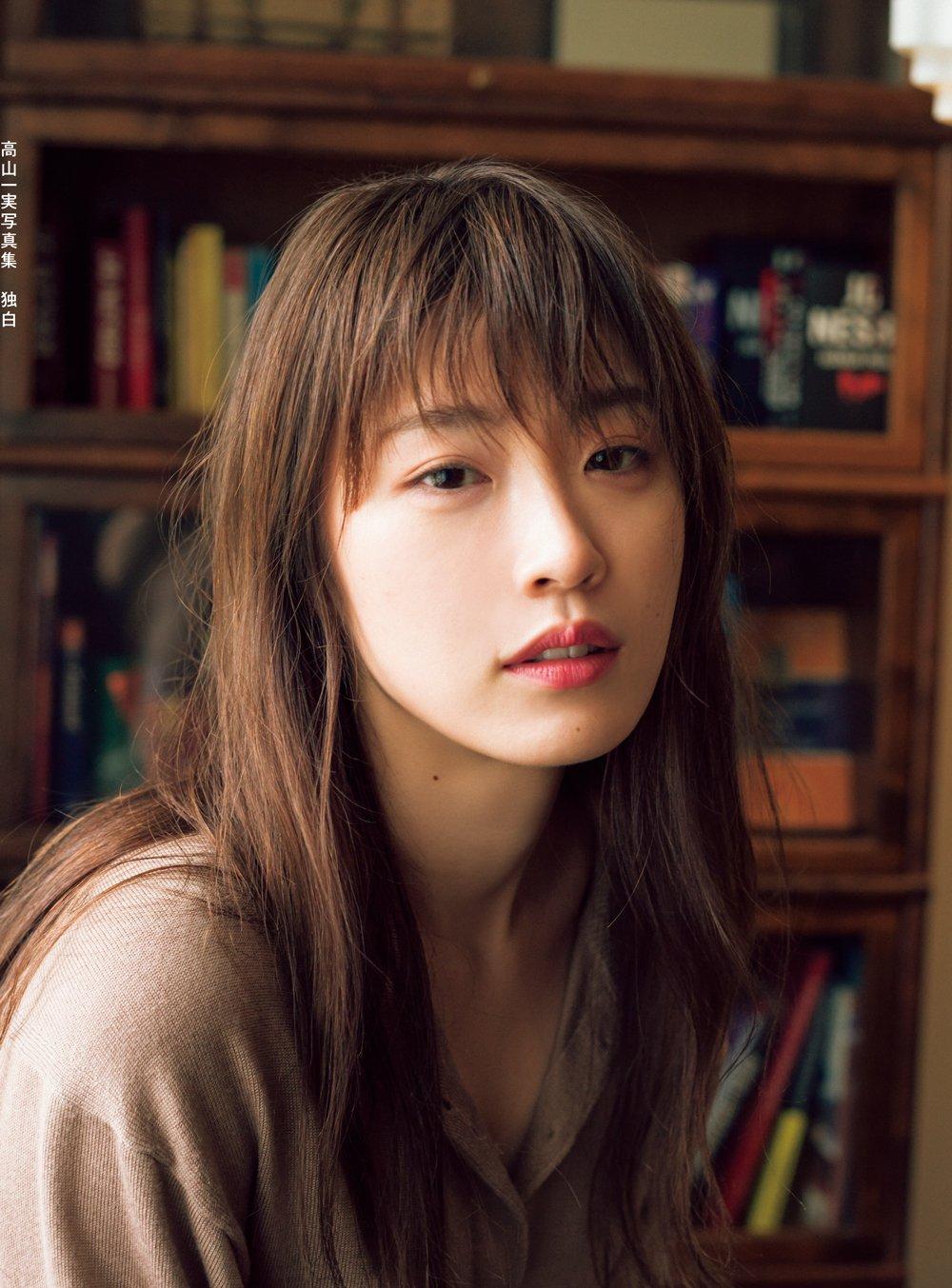 乃木坂46高山一実 2nd写真集『独白』通常版表紙